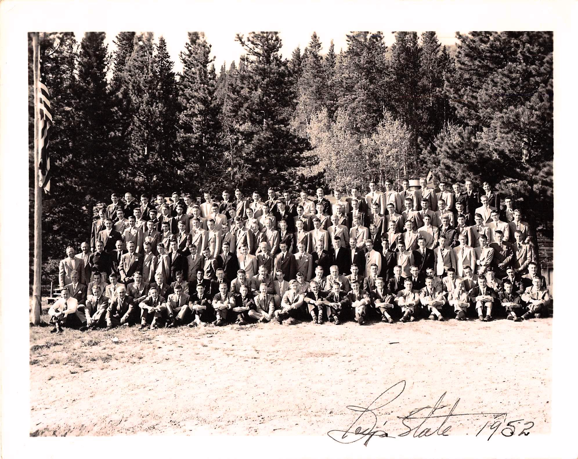 1952 Wyoming Boys' State delegation